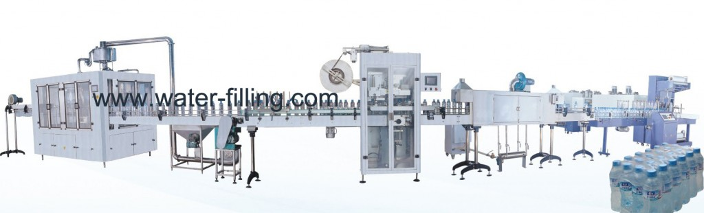 4000BPH Bottled Water Production Line