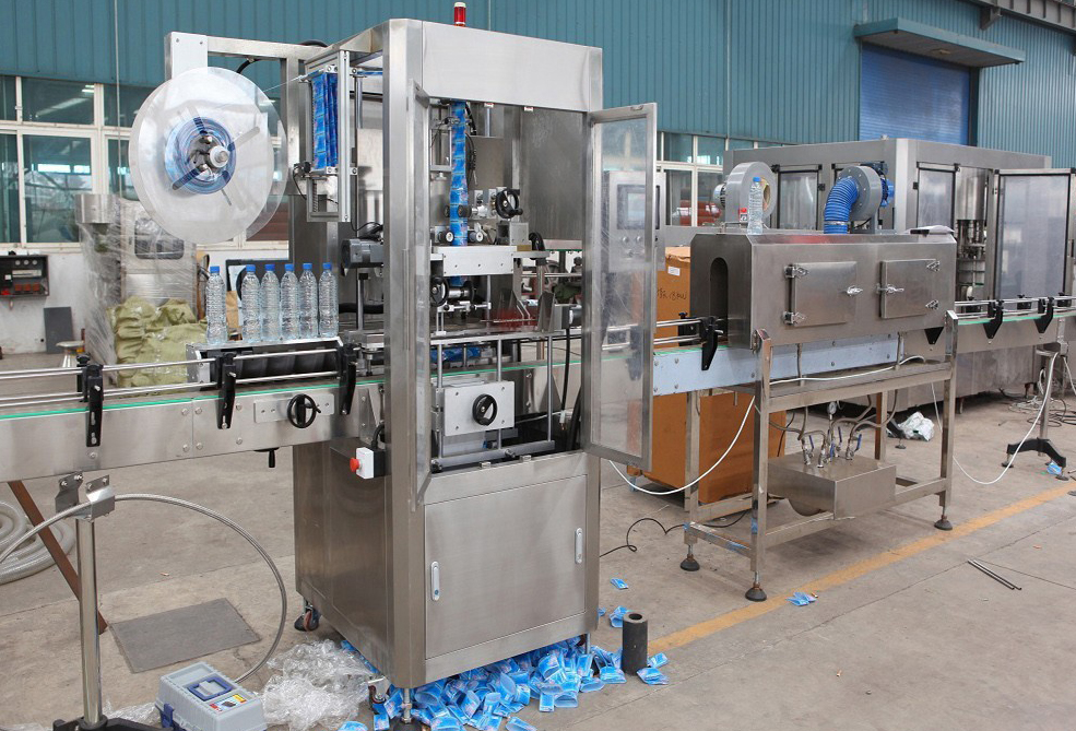 PM-150 -1Plastic Bottle Shrink labeling machine