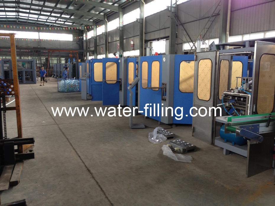 Automatic Blow Molding Manufacture workshop