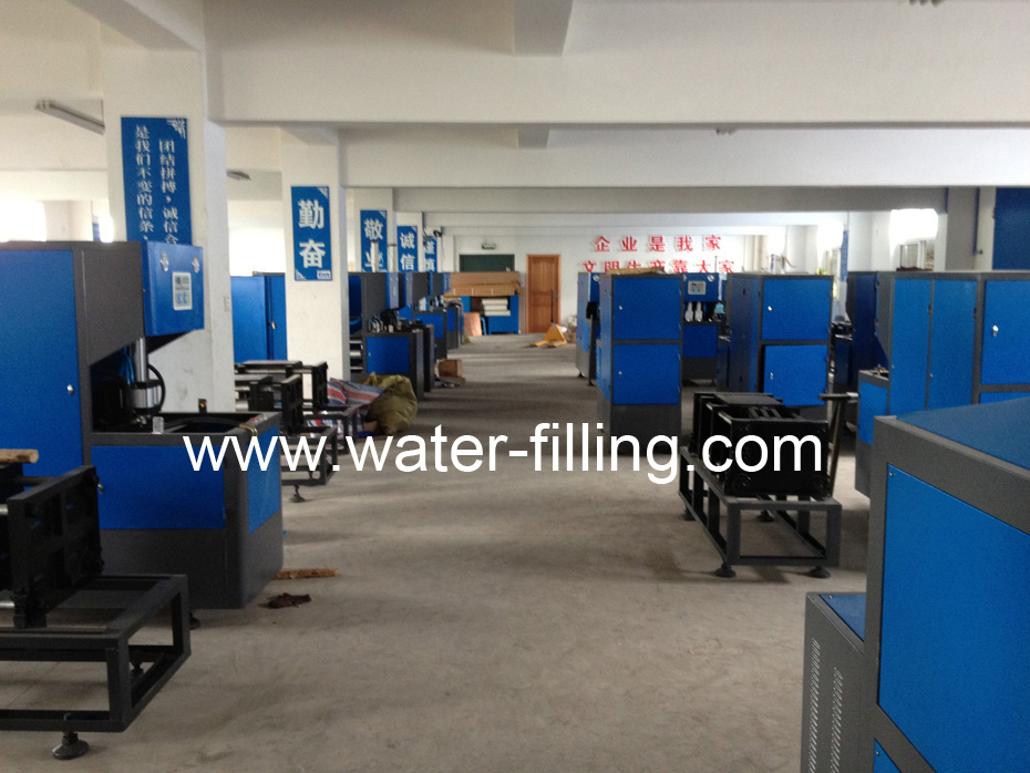 Semiautomatic Blow Molding Manufacture workshop