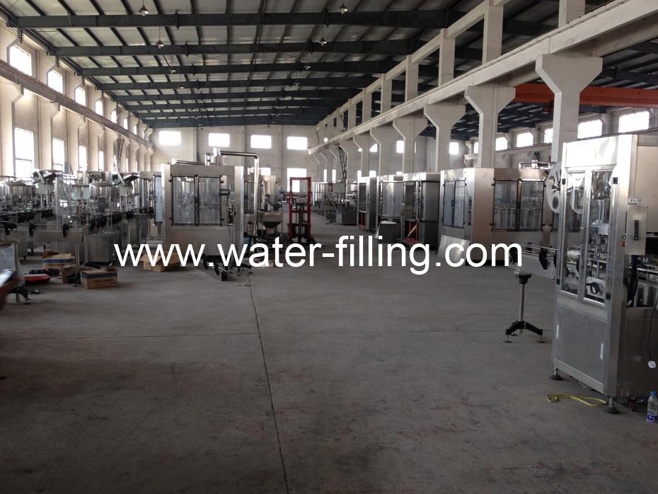 bottling machine manufacture workshop
