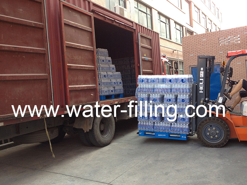 loading container carbon water