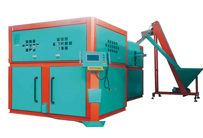 six cavity auto blow molding machine