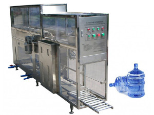 100BPH 5gallon water bottle washing filling capping machine