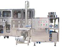 automatic 5gallon cap washing and loading machine
